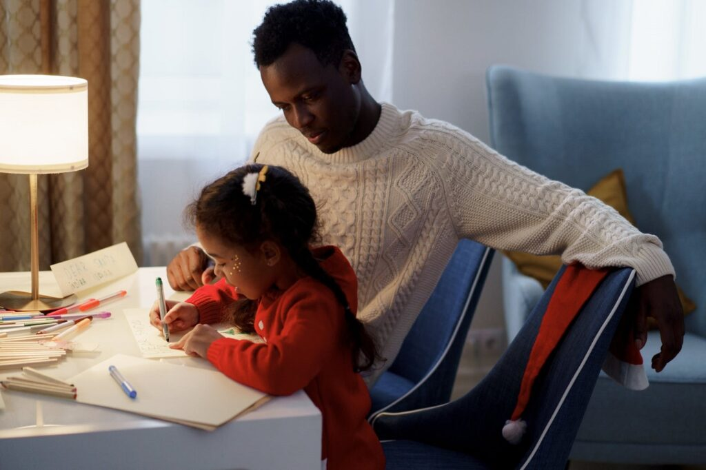 making a life book with a child